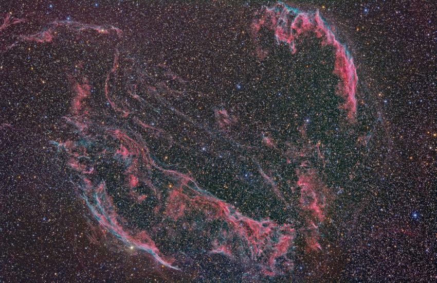 <b>The Veil Nebula in Hydrogen Alpha</b>